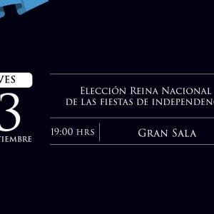 Elección Reina Nacional Fiestas de Independencia