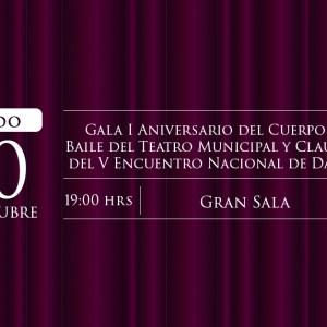 Aniversario Cuerpo de Baile del Teatro Municipal