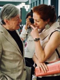 Александр Збруев и Анна Большова