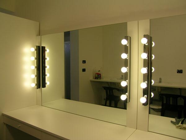 Specchi Con Luci Per Trucco.Specchio Trucco Con Luci