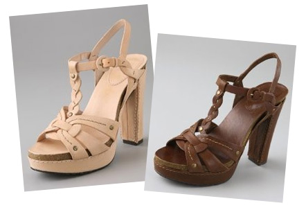 Frye Grace Woven T Strap Platform Sandals2