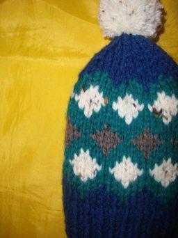 Fair Isle Boys Hat