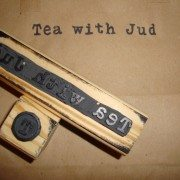 tea with jud stamps