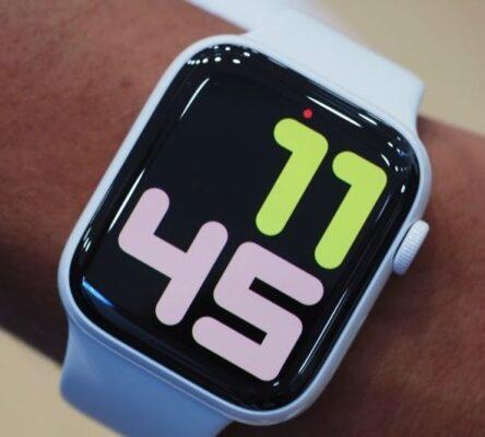 iwatch pantalla