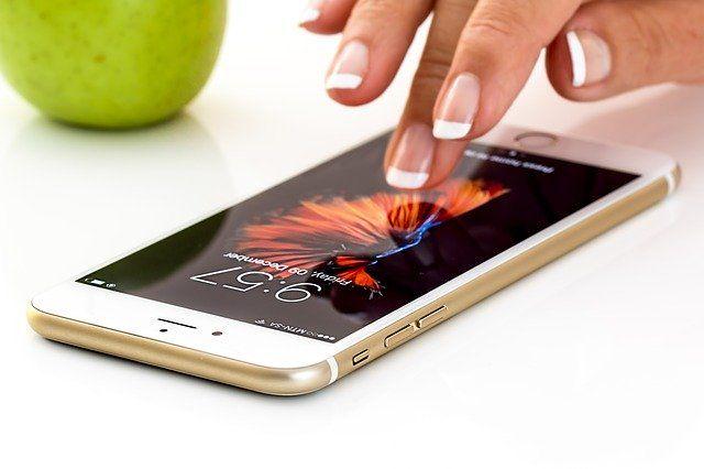 smartphone pantalla