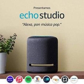 Echo Studio - Bocina inteligente de alta fidelidad con Alexa