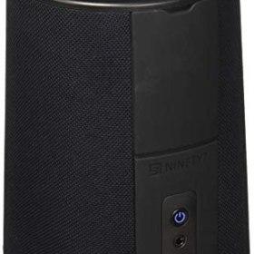 Ninety7 Inc. Vaux Cordless Home Speaker + Portable Battery for Amazon Echo Dot Gen 2 Black/Carbon
