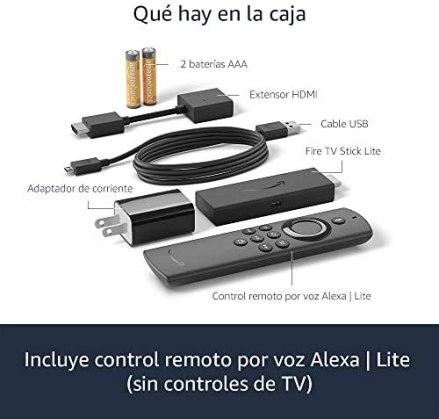 Presentamos el Fire TV Stick Lite con control remoto por voz Alexa | edición 2020 4