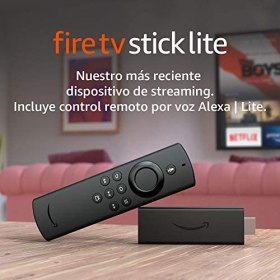 Presentamos el Fire TV Stick Lite con control remoto por voz Alexa | Lite | Dispositivo de streaming HD | edición 2020