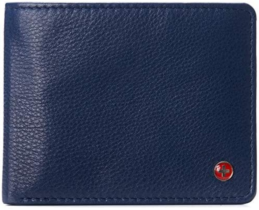 Alpine Swiss RFID Connor Passcase Billetera para hombre 1