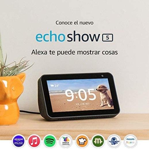 """Echo Show 5 - Pantalla compacta de 5.5"""" con Alexa - Negro 2"""