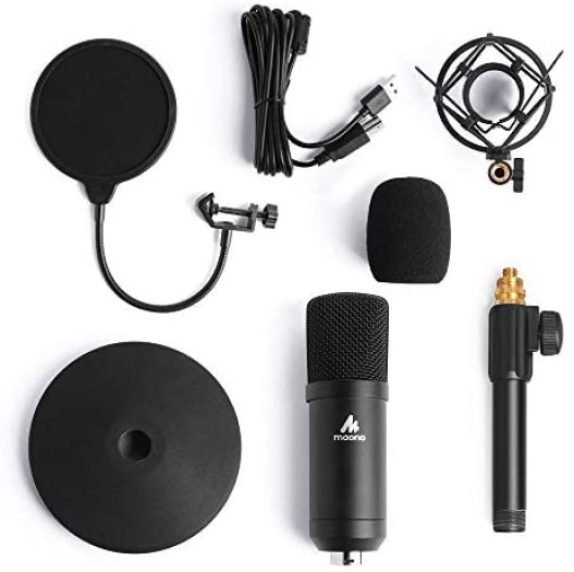 Kit de micrófono USB Condensador 13