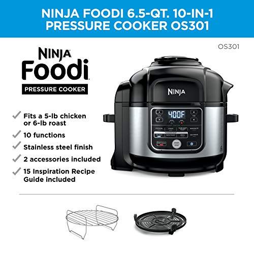Ninja OS301 Foodi Olla a presion 10 en 1 y