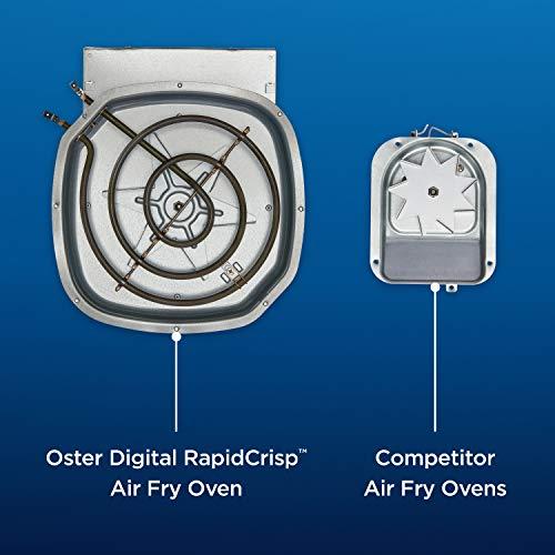 1619863854 681 Oster Horno de freidora digital con RapidCrisp en acero