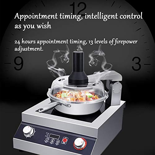 HXXXIN Olla Arrocera Robot Inteligente Comercial Completamente Automática A Gran Escala, Olla De Cocción Multifuncional Puede Satisfacer Todas Las Necesidades De La Familia,B 6