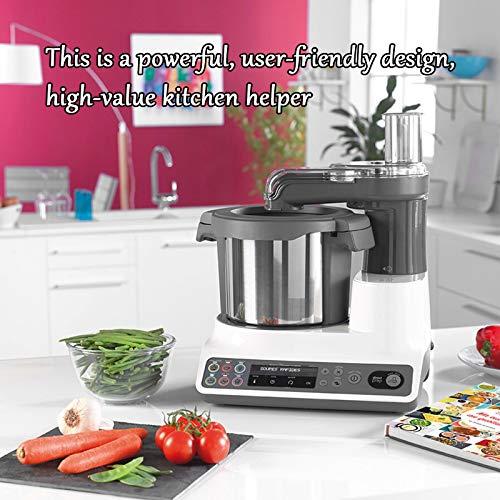 Robot De Cocina Inteligente, Máquina De Cocinar Multifunción para El Hogar Y Máquina De Fideos, Procesador De Alimentos Todo En Uno, Máquina De Arroz Frito 6
