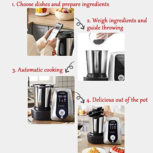 Máquina De Cocción Automática para El Hogar, Robot De Cocción Inteligente, Máquina De Cocción Multifunción, Cocción Al Vapor, Freír, Freír, Guisar 3