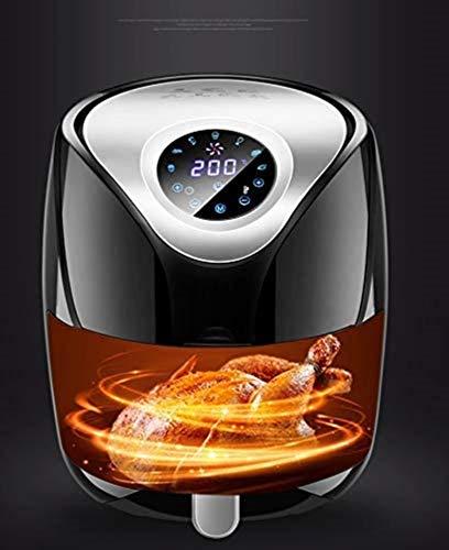 Freidora de aire inteligente Freidora eléctrica multifunción Sartén eléctrica Horno Hogar de alta capacidad Sin humos Control de pantalla táctil 4
