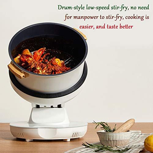 HXXXIN Máquina De Cocción Inteligente Multifuncional para Cocinar Al Vapor, Freír, Guisar Y Freír para Satisfacer Todas Las Necesidades. Máquina De Cocción Doméstica Completamente Automática 3