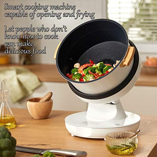 HXXXIN Máquina De Cocción Inteligente Multifuncional para Cocinar Al Vapor, Freír, Guisar Y Freír para Satisfacer Todas Las Necesidades. Máquina De Cocción Doméstica Completamente Automática 2