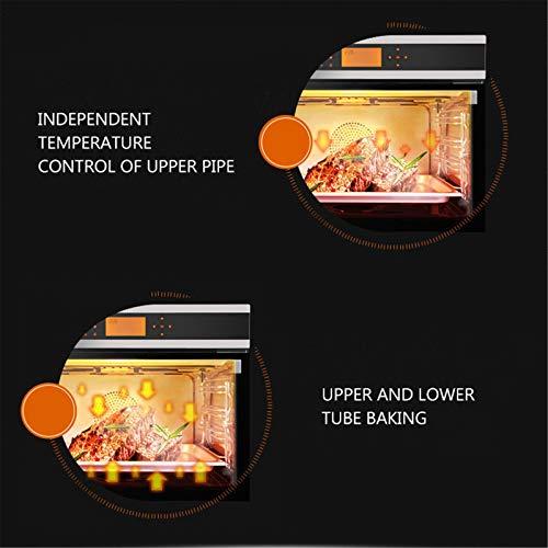 Horno único ventilador de acero inoxidable A Rendimiento energético Solo horno microondas en plata Tact Premium convección horno horno halógeno ideal para asar y hornear 7
