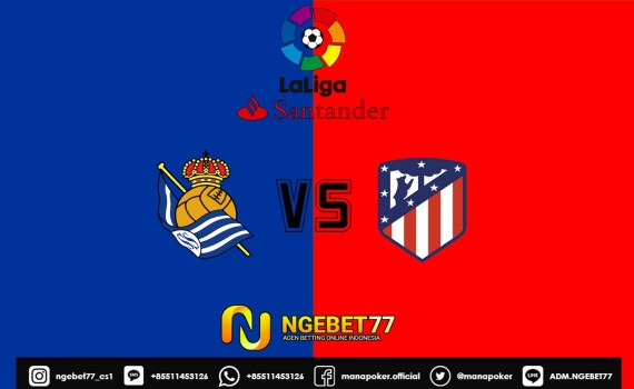 Prediksi Skor Bola Real Sociedad vs Atletico Madrid 14 September 2019