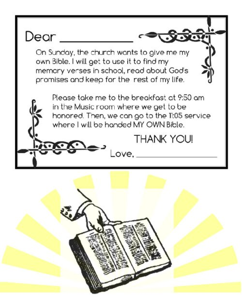 BIBLE note