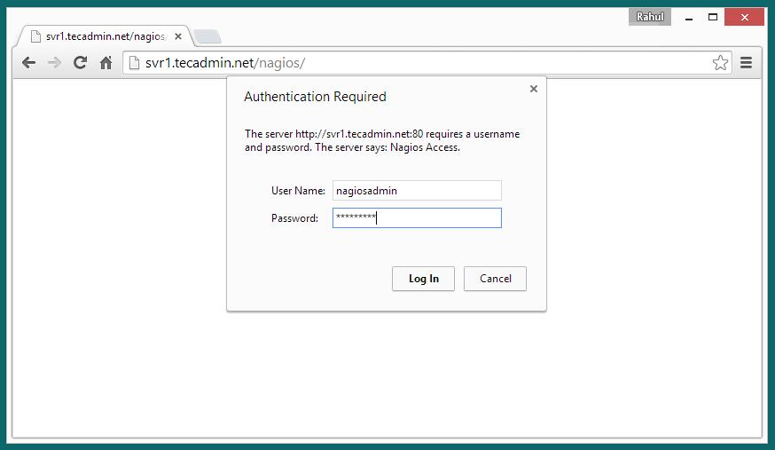 nagios-web-interface-login