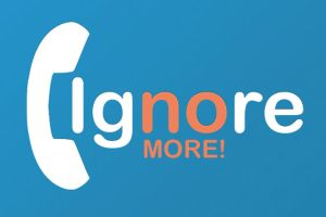 ignore no more logo