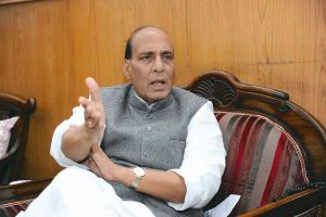 Rajnath Singh warning Pakistan to control terrorism budding in their country