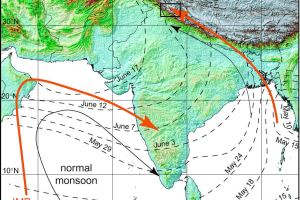 Indian Monsoon is influenced by Mineral Dust of middle-east