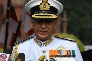 Indian Navy Chief Sunil Lanba