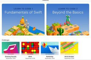 App Store, Apple, Coding, iOS 10, Kids, students, Swift, Swift coding language, Swift Playgrounds