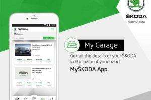 Skoda Launches App