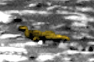 Alien hunters spot machine used by aliens on Mars in NASA Curiosity image
