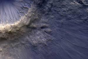 NASA stunning MRO image shows raining rocks on Mars
