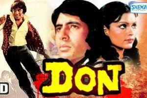 Amitabhs Don movie poster