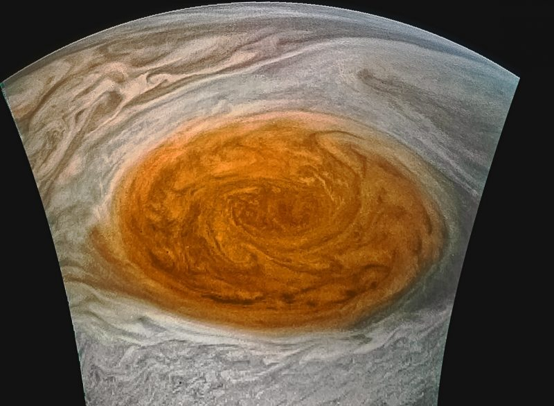 Jupiter's Great Red Spot Is Slowly Dying