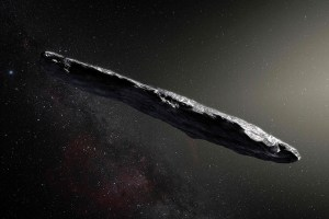 Stephen Hawking said that Interstellar asteroid Oumuamua could be an alien satellite