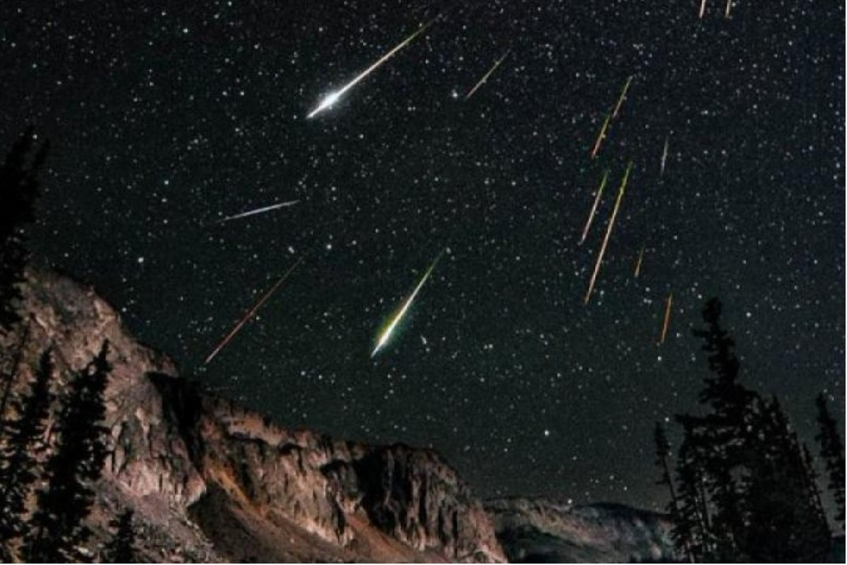 How are the skies for tonight's Lyrid meteor shower?