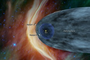 Voyager 2 recorded increase in cosmic radiation; might enter into the interstellar space soon