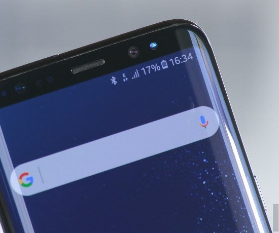 Samsung is reportedly working on behind-the-display front-facing camera