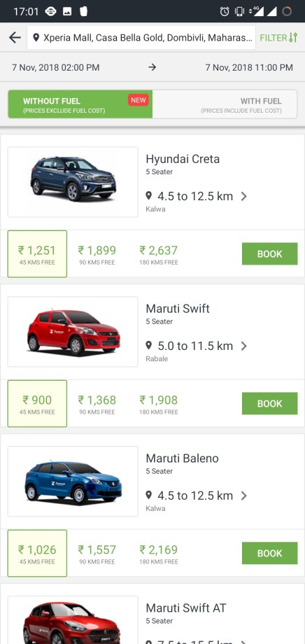 'Zoomcar' app review: Rent a car hassle free anywhere