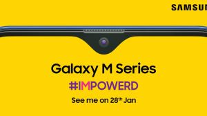 Samsung is launching its budget Samsung Galaxy M series on January 28 on Amazon exclusively.