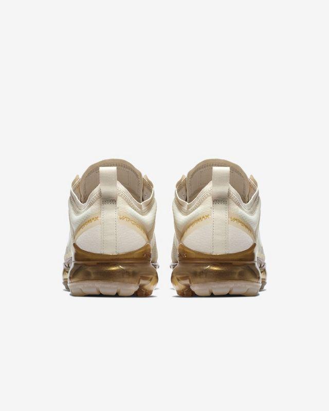 Nike Air VaporMax Blanco/Dorado