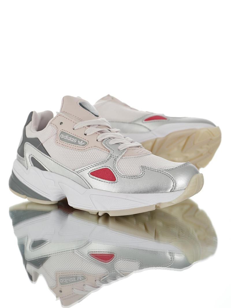 Adidas Falcon Rosa Plateado