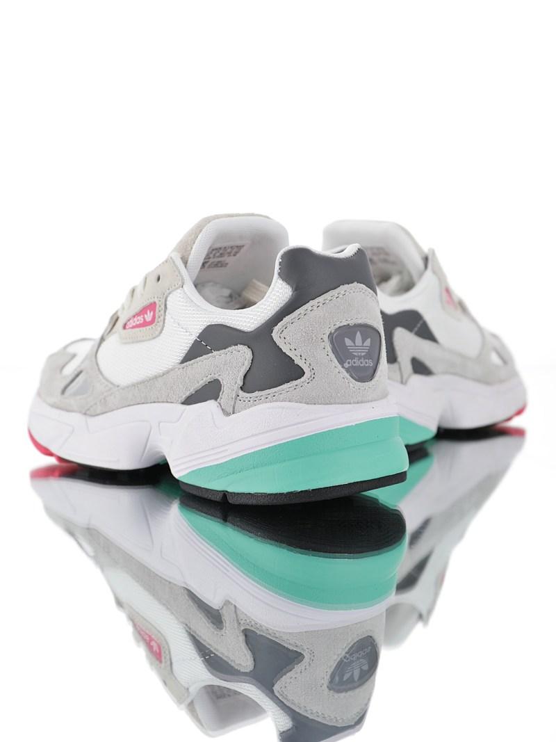 Adidas Falcon Blanco y Gris