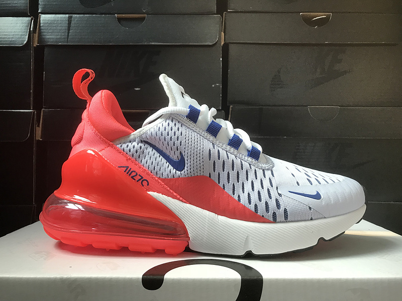 Nike Air Max 270 Blanco/Rojo