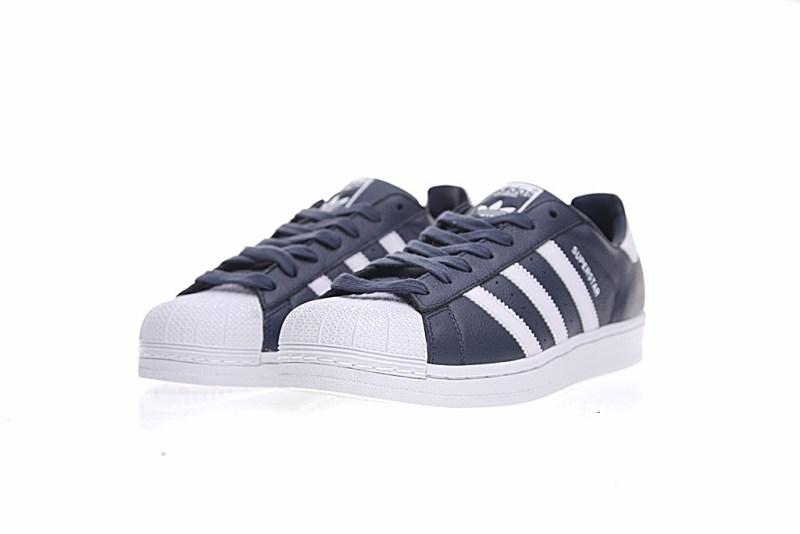 Adidas Superstar Azul y Blanco