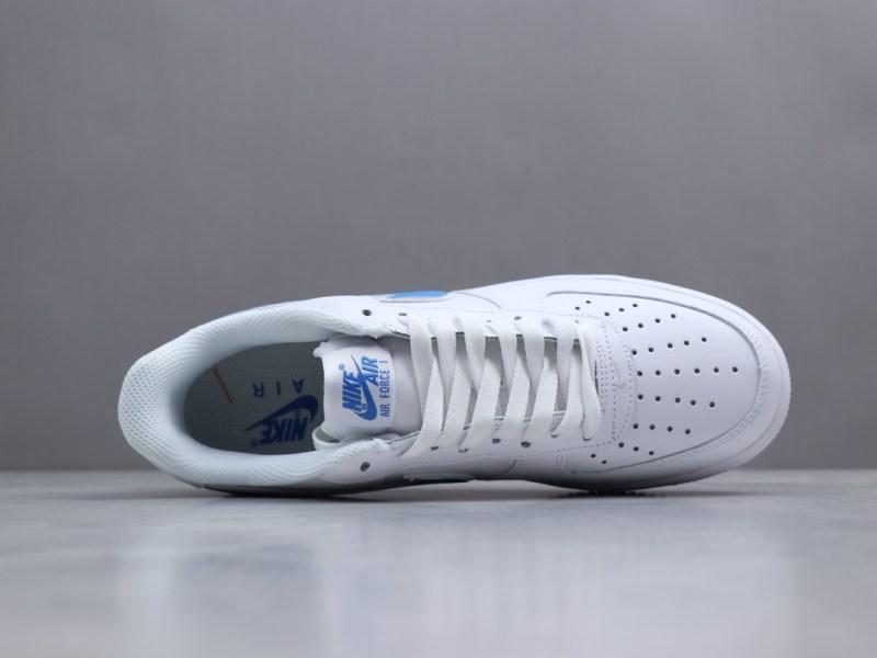 Nike Air Force 1 Logo Azul